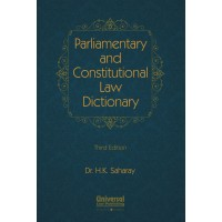 Parliamentary and Constitutional Law Dictionary