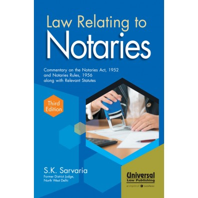 Law Relating to Notaries