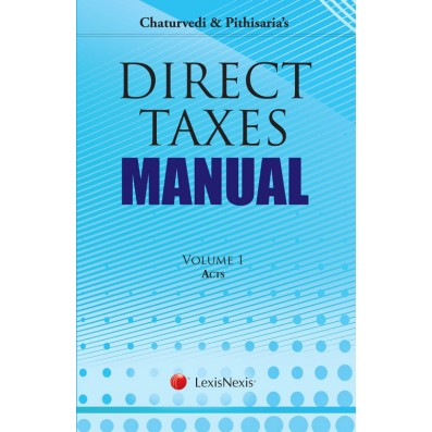 Direct Taxes Manual