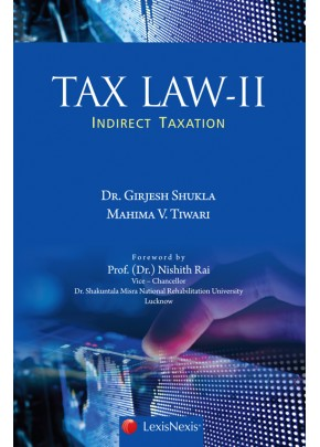 Tax Law II-Indirect Taxation