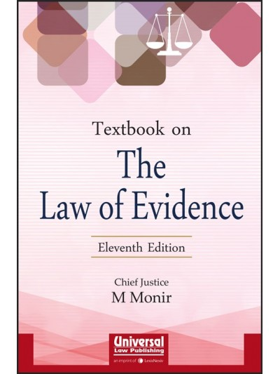 Textbook on The Law of Evidence