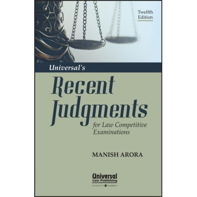 Universal's Recent Judgments for Law Competitive Examinations