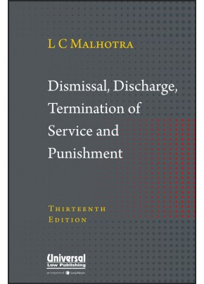 Dismissal, Discharge, Termination of Service and Punishment