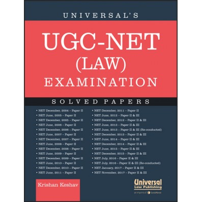 Universal's UGC-NET (Law) Examination - Solved Papers