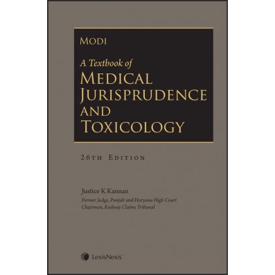 A Textbook of Medical Jurisprudence and Toxicology