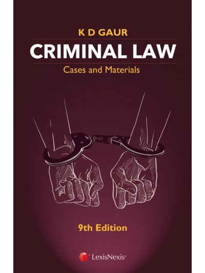 Criminal Law-Cases and Materials