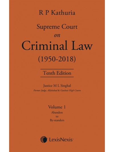Supreme Court on Criminal Law (1950-2018)