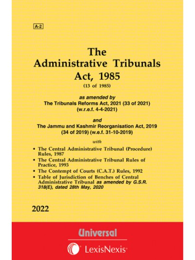 Administrative Tribunals Act, 1985 along with CAT (Procedure) Rules, 1987, CAT Rules of Practice, 1993 and Contempt of Courts (C.A.T.) Rules, 1992