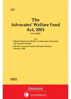 Advocates' Welfare Fund Act, 2001