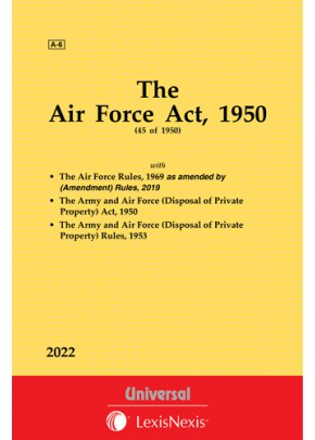 Air Force Act, 1950 along with allied Act and Rules