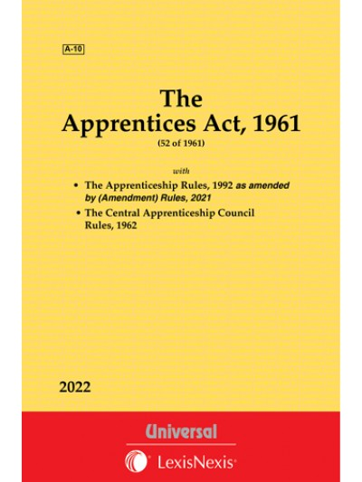 Apprentices Act, 1961 along with allied Act and Rules