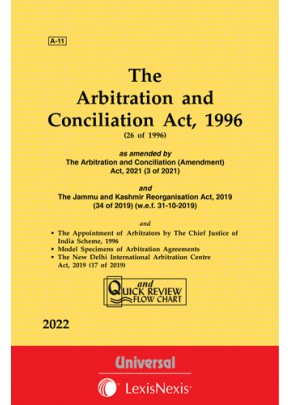 Arbitration and Conciliation Act, 1996 along with Scheme, 1996