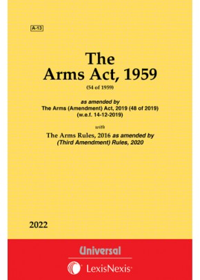 Arms Act, 1959 along with Rules, 2016