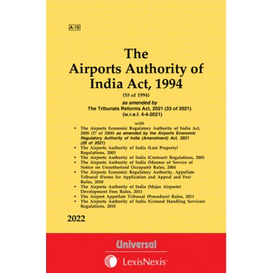 Airport Authority of India Act, 1994 along with Rules and Regulations
