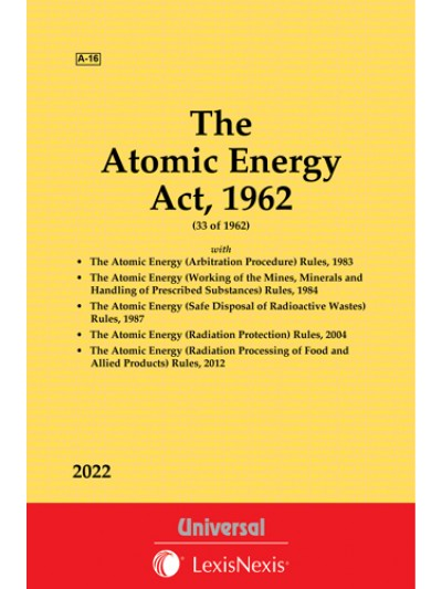 Atomic Energy Act, 1962 with allied Rules