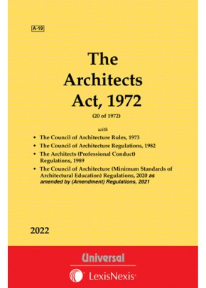 Architects Act, 1972 along with Rules and Regulations