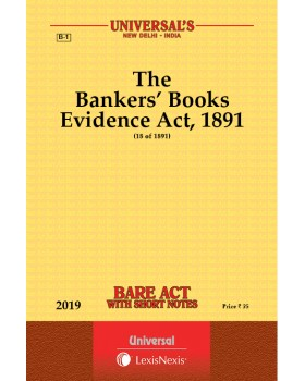 Bankers' Books Evidence Act, 1891