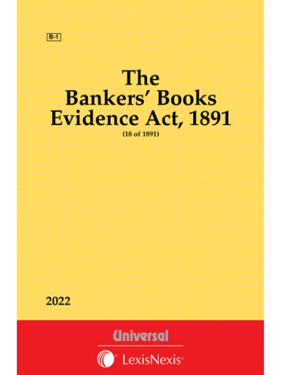 Bankers' Books Evidence Act,1891