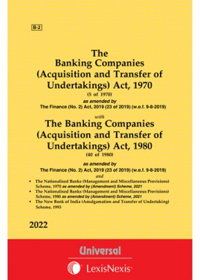 Banking Companies (Acquisition and Transfer of Undertakings) Act, 1970 along with allied Act and Schemes