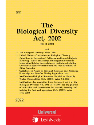 Biological Diversity Act, 2002 along with Rules, 2004