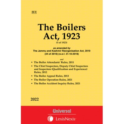 Boilers Act,1923 along with allied Rules