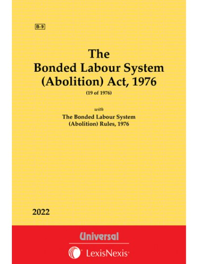Bonded Labour System (Abolition) Act, 1976 along with Rules 1976