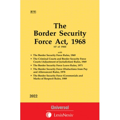 Border Security Force Act, 1968 along with allied Rules