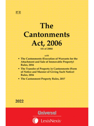 Cantonments Act, 2006 with allied Rules