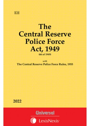 Central Reserve Police Force Act, 1949 along with Rules, 1955