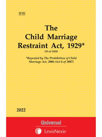 Child Marriage Restraint Act, 1929