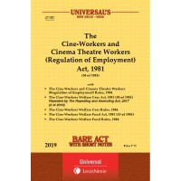 Cine-Workers and Cinema Theatre Workers (Regulation of Employment) Act, 1981 along with Rules, 1984, Welfare Cesws Act, 1981 along with Rules, 1984 Welfare Fund Act, 1981 and Rules, 1984