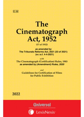 Cinematograph Act, 1952 along with The Cinematograph (Certification) Rules, 1983