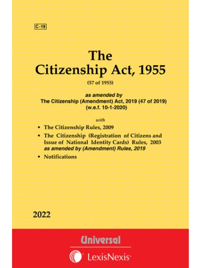 Citizenship Act, 1955 along with The Citizenship Rules, 2009