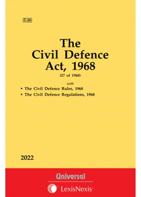 Civil Defence Act, 1968 along with Rules and Regulations