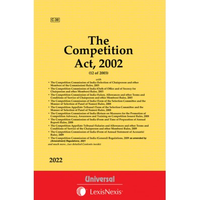 Competition Act, 2002  with allied Rules