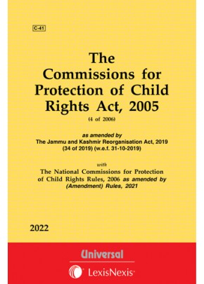 Commissions for Protection of Child Rights Act, 2005 along with Rules