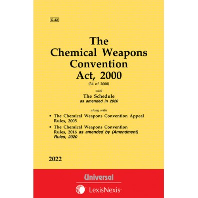 Chemical Weapons Convention Act, 2000 along with Rules
