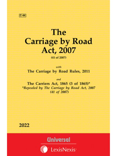 Carriage by Road Act, 2007