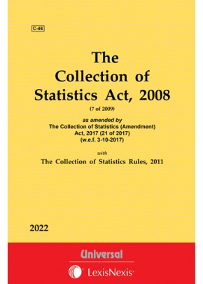 Collection of Statistics Act, 2008 with Rules, 2011