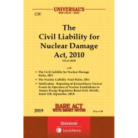 Civil Liability for Nuclear Damage Act, 2010 with Rules, 2011