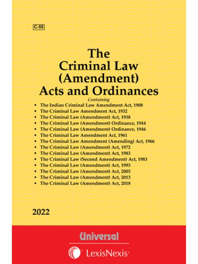Criminal Law (Amendment) Acts and Ordinances