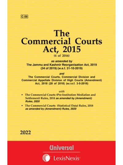 Commercial Court, Commercial Division and Commercial Appellate Division of High Courts Act, 2015