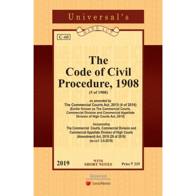 Code of Civil Procedure, 1908 (Pocket Edn)