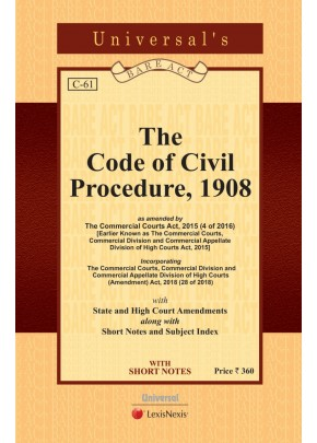 Code of Civil Procedure, 1908 with State Amendments