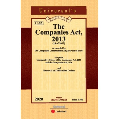 Companies Act, 2013(Pocket Edn)