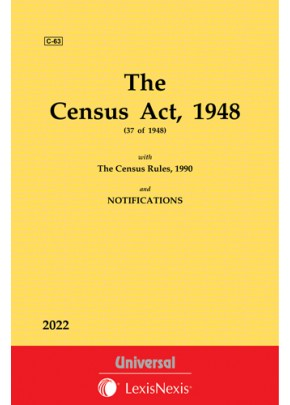 Census Act, 1948 with Rules, 1990