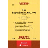 Depositories Act, 1996 along with Rules, 1998