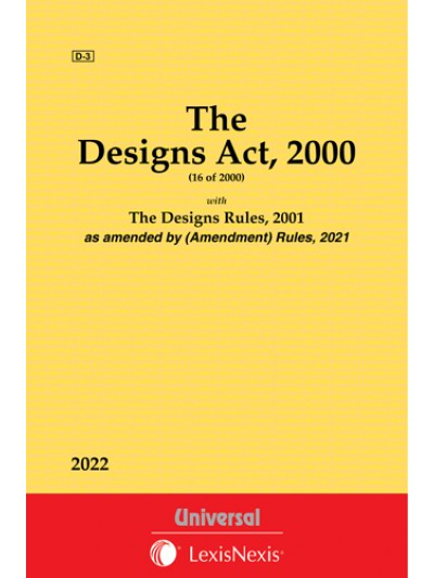 Designs Act, 2000 along with Rules, 2001