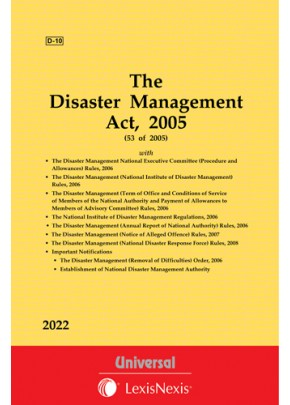 Disaster Management Act, 2005 along with Allied Rules