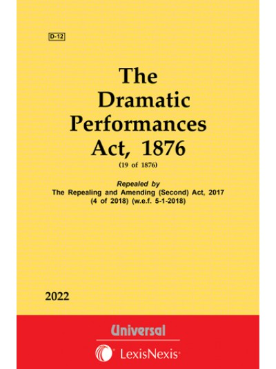 Dramatic Performances Act, 1876